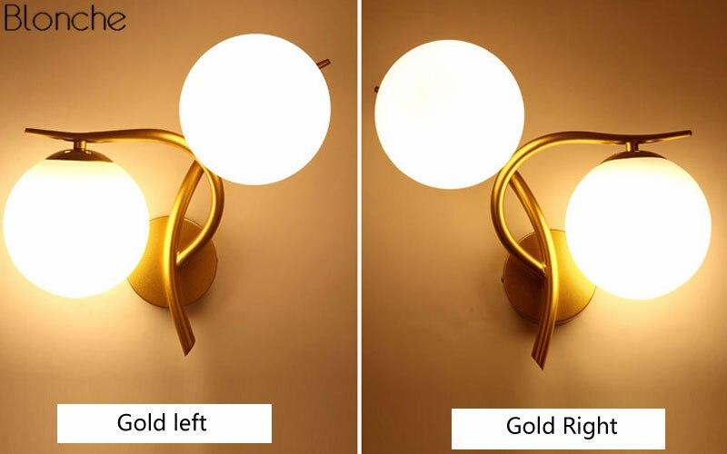 arandela ouro loft industrial luz sala estar