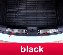 2pcs/set for polo 2011-2018 Trunk Guard plate protect decorate