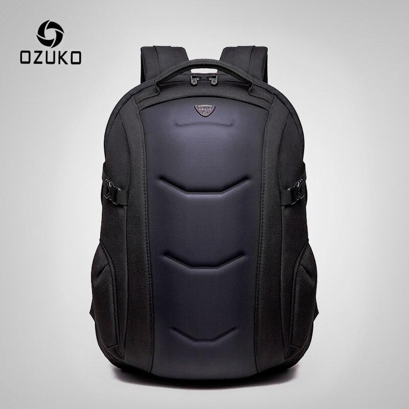 OZUKO SAC Marque Étanche Oxford Sac À Dos pour Adolescent 15.6 pouces sacs à dos d'ordinateur portable Mâle De Mode Cartable Hommes Voyage Sacs Mochilas