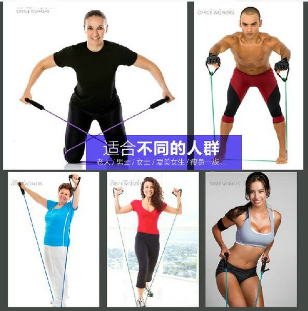 Women shaping home fitness equipment strength training rope body sculpting  aerobic exercise-in Resistance Bands from Sports   Entertainment on ... 69a23bc6f