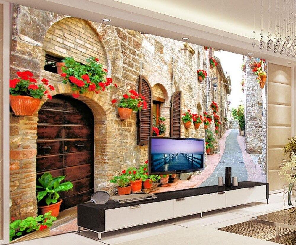 Custom Photo Wallpaper Large 3D Stereo Romantic
