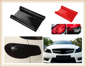 Car personality modification headlight taillight fog light color film for Toyota 4Runner Sienna Sequoia Prius GR Camry i-TRIL image