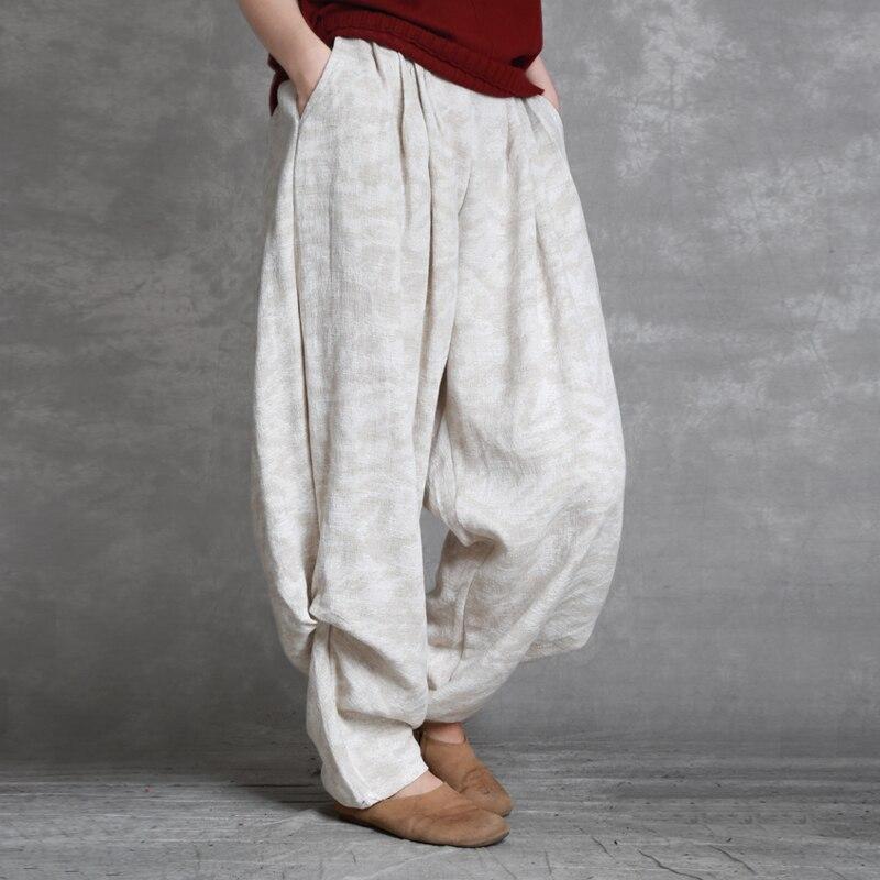 75264ba45fdbc 2019 Coton D'hiver Décontractés Harajuku Pantalons Rétro Nouvelle Cargo  Automne Femmes Haren Littérature Pantalon N415 ...