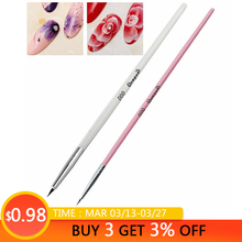 Mtssii 16cm Nail Art Line Drawing Pen UV Gel Flower Painting