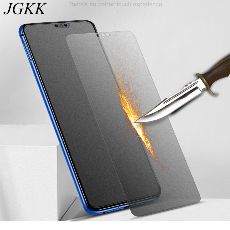 JGKK Tempered Glass For Honor 8X Max Screen Protector Frosted Glass For Huawei Honor 7X 7A 7C Pro 7S Matte No Fingerprints Film