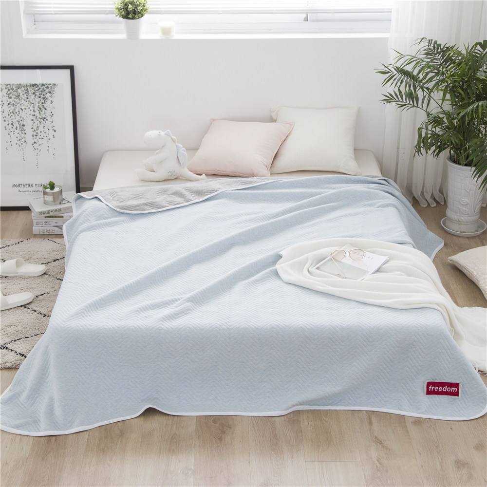 100 Cotton Solid Polka Dot Jacquard Throws Bath Towel Bed Cover Bedcover Bedspread Portable Air Conditioner Summer Quilt Blanket In Throw From Home Garden