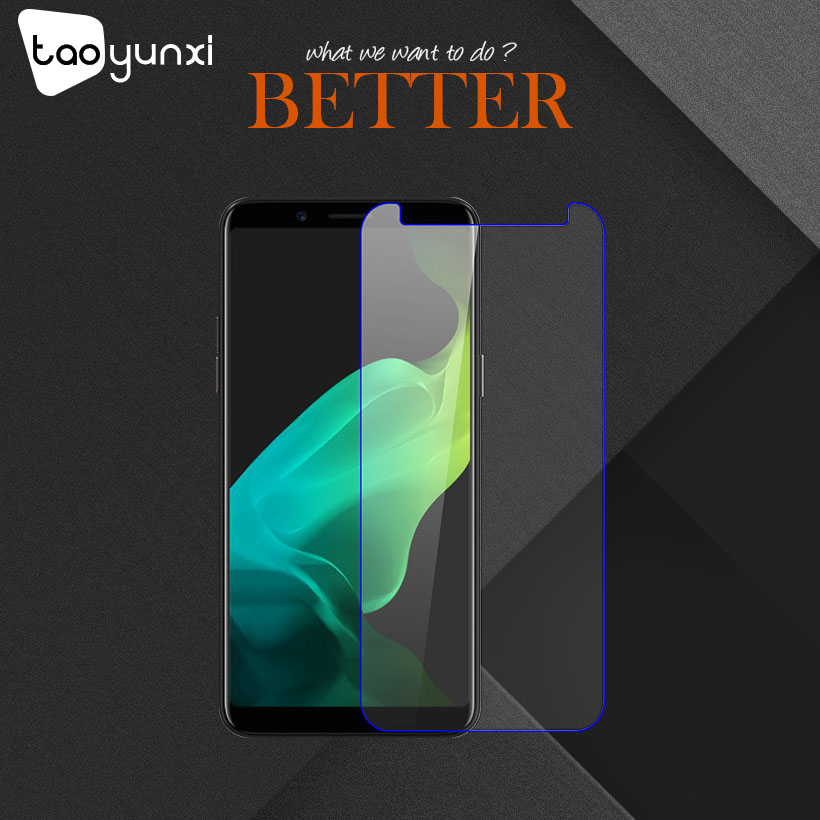 TAOYUNXI 10Pcs/Lot Tempered Glass For OPPO F5 6GB Proof Screen Protector For Youth F5 Plus Protective Film For OPPO A73
