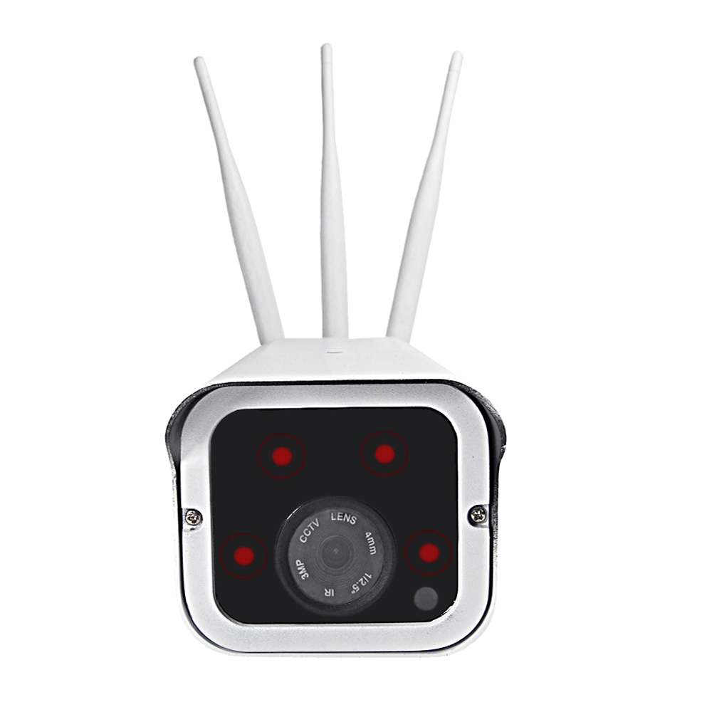 YSA Outdoor 1080P 960P 720P HD 4G 3G Sim Card Wireless IP Camera Video Record IR