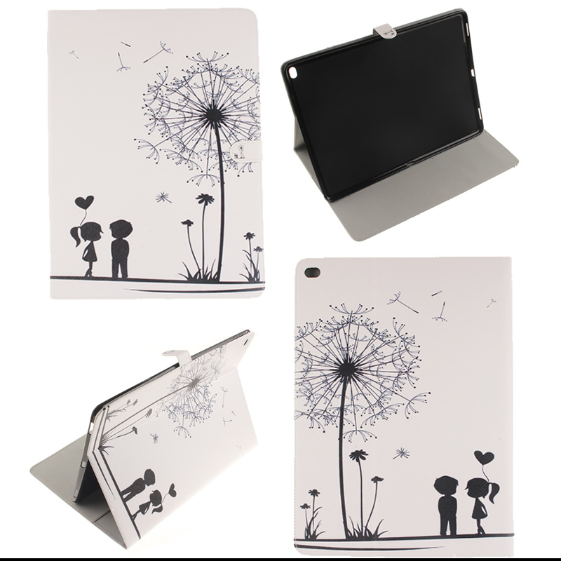 Fashion Pattern PU Leather Case Cover For Apple Ipad Pro 12.9 Fundas Coque Tablet bags with card slot M4D33D