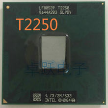 Intel Laptop CPU T2250 1.73/2M/533 scrattered pieces Free shipping