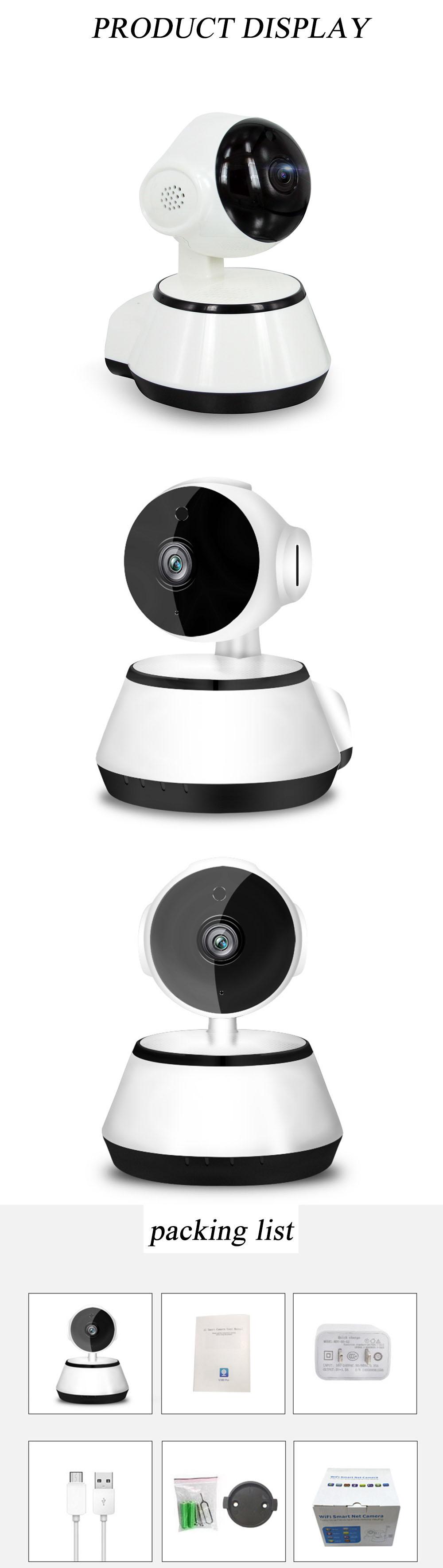 1080P WIFI Wireless Pan Tilt Security IP Camera CCTV Night Vision