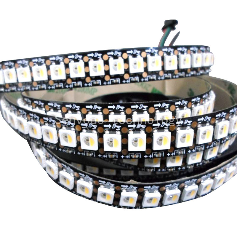 20mX Programmable SK6812 5050 RGBW 4 in 1 color digital led strip 30/60/72/144led/m 5m/roll white/black pcb express freeshipping 5mx new arrival sk9822 5050smd rgb digital flexible led strip light dc5v input 30 32 48 60 72 144led m black pcb free shipping