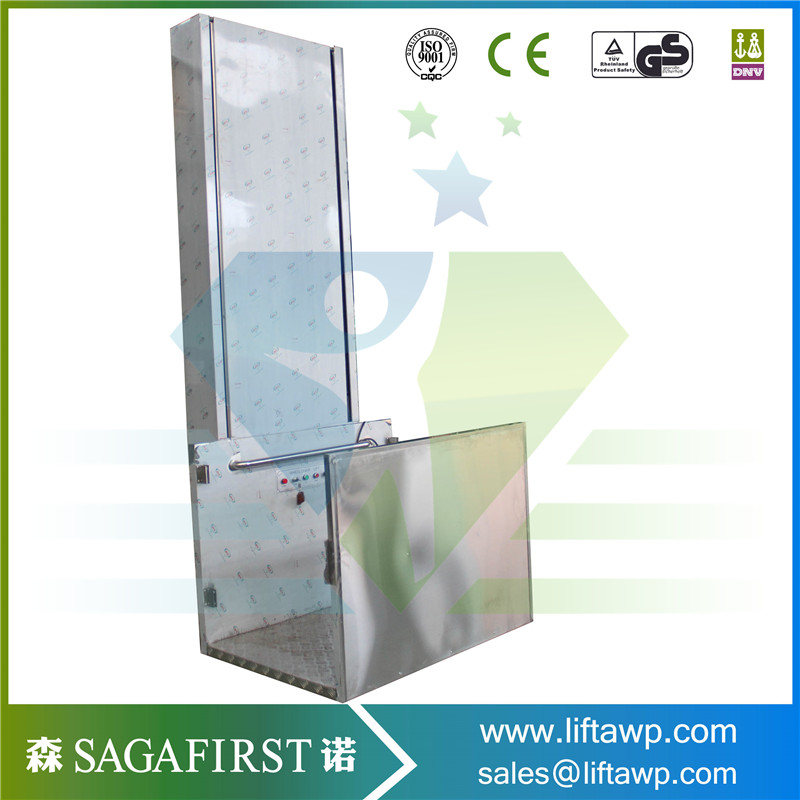 Electric Hydraulic Lifting Vertical Wheelchair Lift
