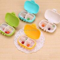 5pcs Lot Portable Mini Pill Box Medicine Box Drug Container For Travel Hot Sale