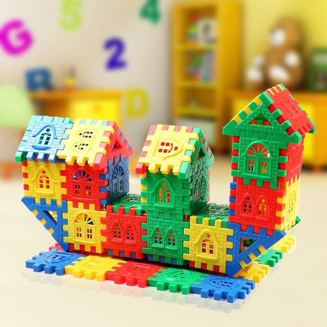 freies verschiffen bunte baby spielzeug block kunststoff spielzeug baby desktop hausbau gro e. Black Bedroom Furniture Sets. Home Design Ideas