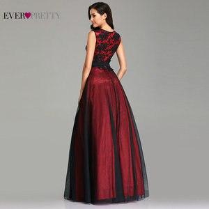 Image 4 - Vestidos de talla grande para dama de honor, vestidos elegantes de corte A con cuello redondo sin mangas, apliques formales, vestidos para invitados de Fiesta de bodas, Vestido de Fiesta para Mujer