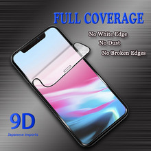 Tempered Glass for Iphone X/XS XR Phone Screen 9D Full HD MAX Protection High Definition