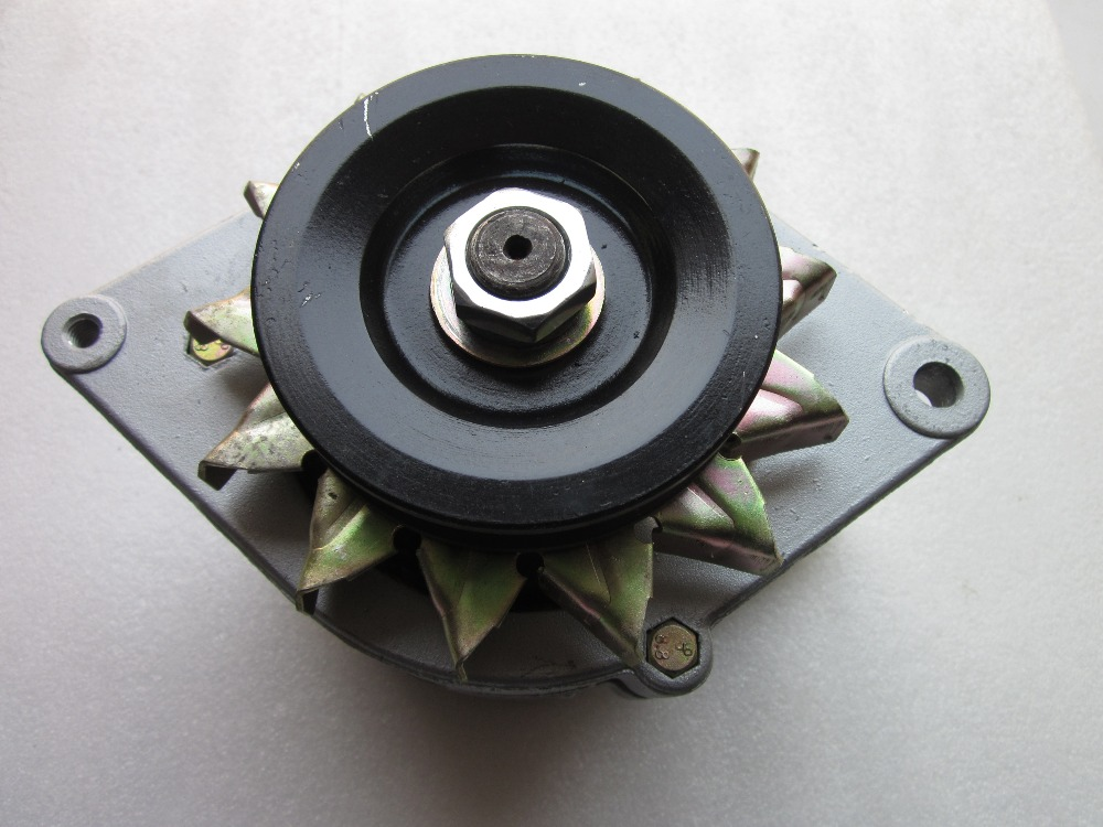 Laidong KM385BT the alternator, model: 2JF200, part number: KM385T-12100-2 laidong kama km385bt for tractors like jinma foton dongfeng the high pressure fuel pump 3i344 part number km385bt 10100