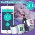 Оригинал iFever Дети Интеллектуальные Носимых Электронный Термометр Bluetooth Смарт Счастливый Ребенок Монитор Бытовой Термометр