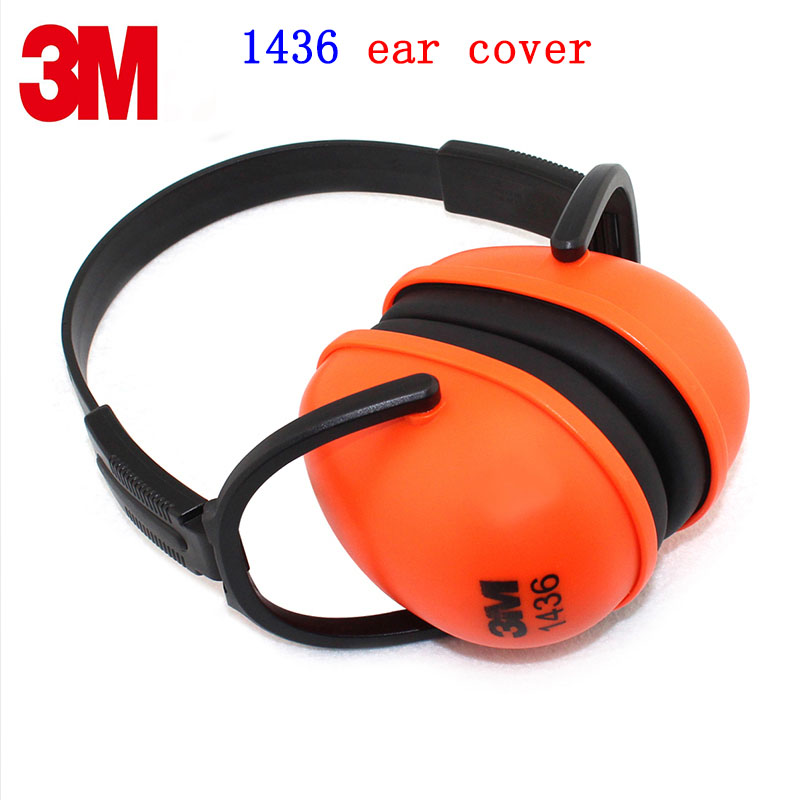 3M 1436 Sound insulation Earmuffs Genuine security 3M ear defenders Learn Sleep profession Earmuffs forest defenders