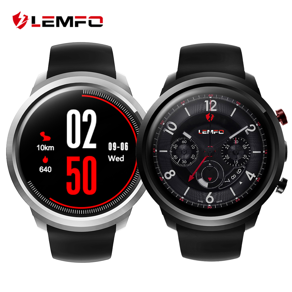 LEMFO LEF2 Android 5.1 Inteligente Reloj Teléfono Dos Modos MTK6580 Quad A Core 512 MB + 8 GB Smartwatch de Ritmo Cardíaco Monitor