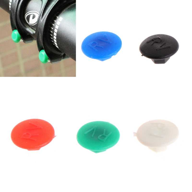Bicycle Screws Caps Durable Plastic Bolts Protectors Head Nut Covers Dust Proof