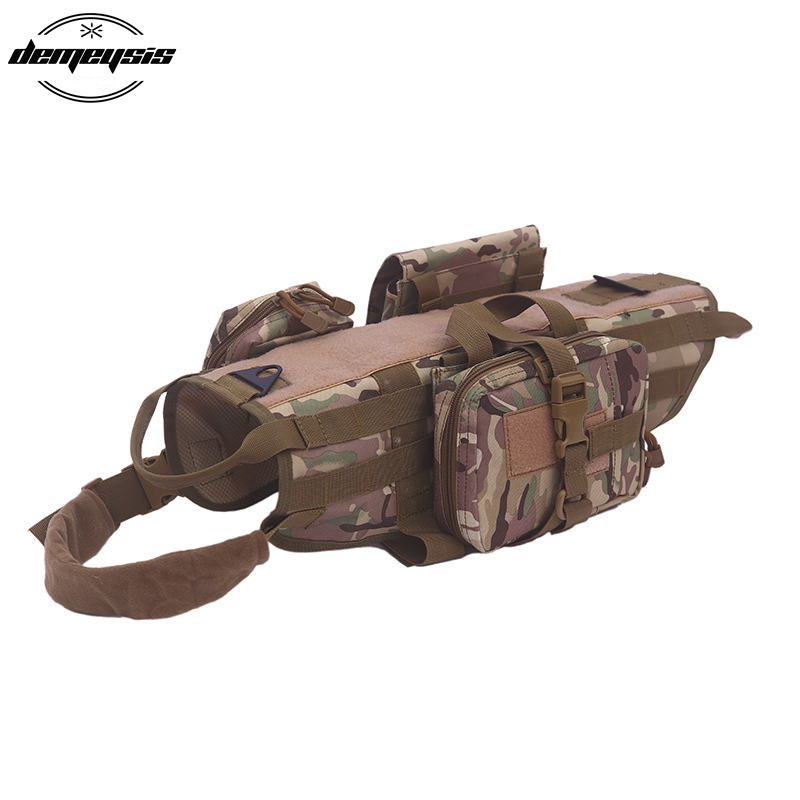 Tactical Military Pet Vest Hunting K9 Dog Training MOLLE Vest Harness Combat Dog Vest