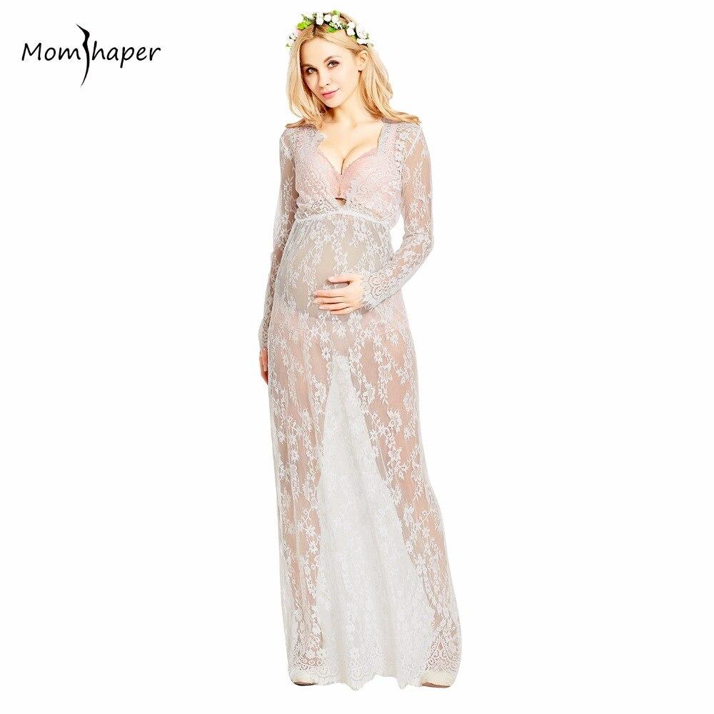 Kleidung für schwangere frauen spitzenkleid Schwangerschaft frauen ...