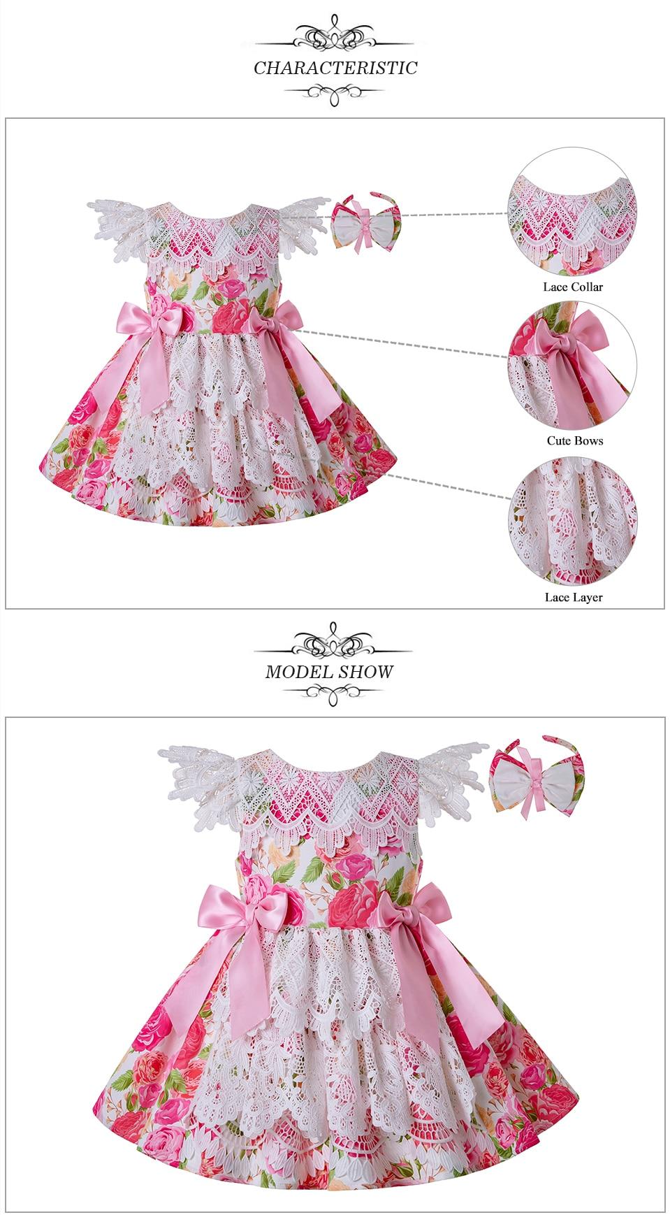 18ad282cb7487 BIG SALE] Pettigirl New Princess Dress Flower Girl Dress Summer with ...