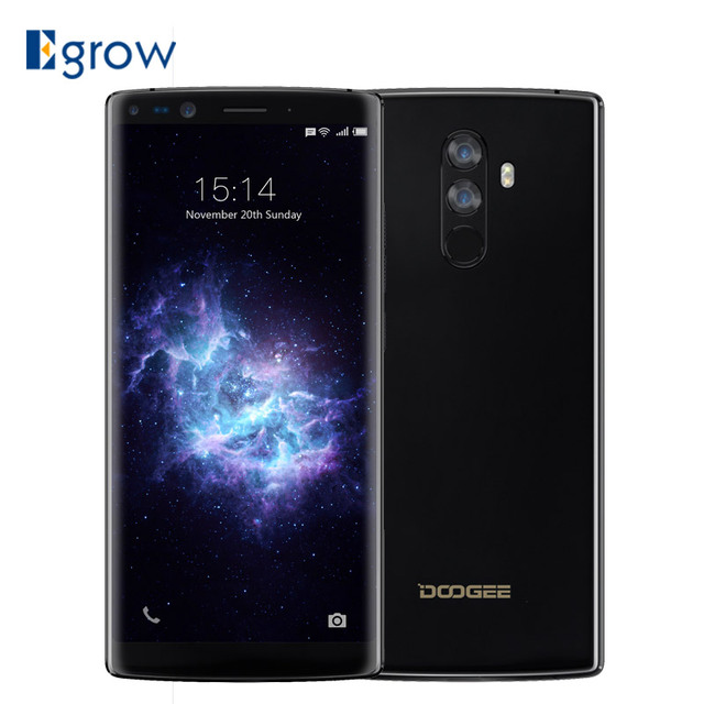 DOOGEE Mix 2 Android 7.1 4060mAh 6.0'' FHD+ Helio P25 Octa Core 6GB RAM 64GB ROM Smartphone Quad Camera 16.0+13.0MP 8.0+8.0MP