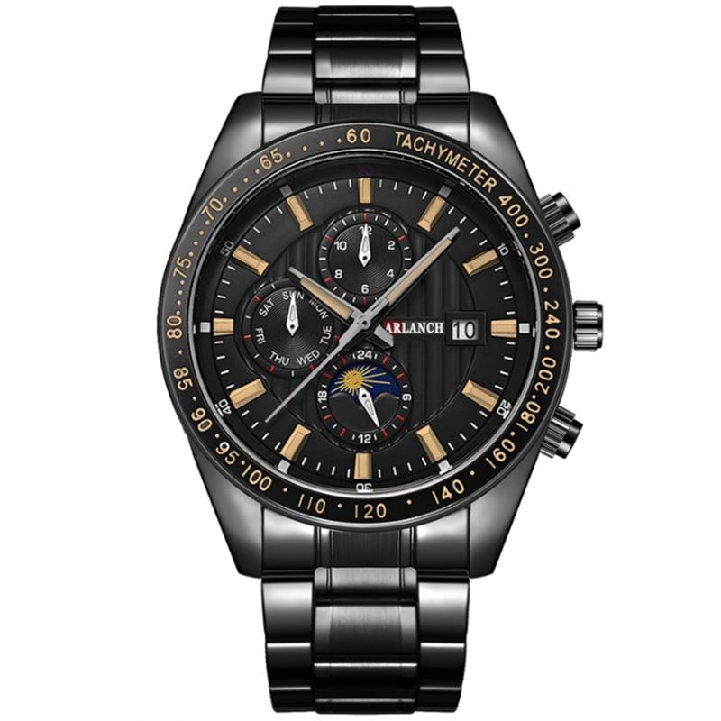 Men 39 s Watch Fashion Creative Business Quartz watch montre homme Clock Stainless Steel Waterproof Watch Men Relogio Masculino in Quartz Watches from Watches