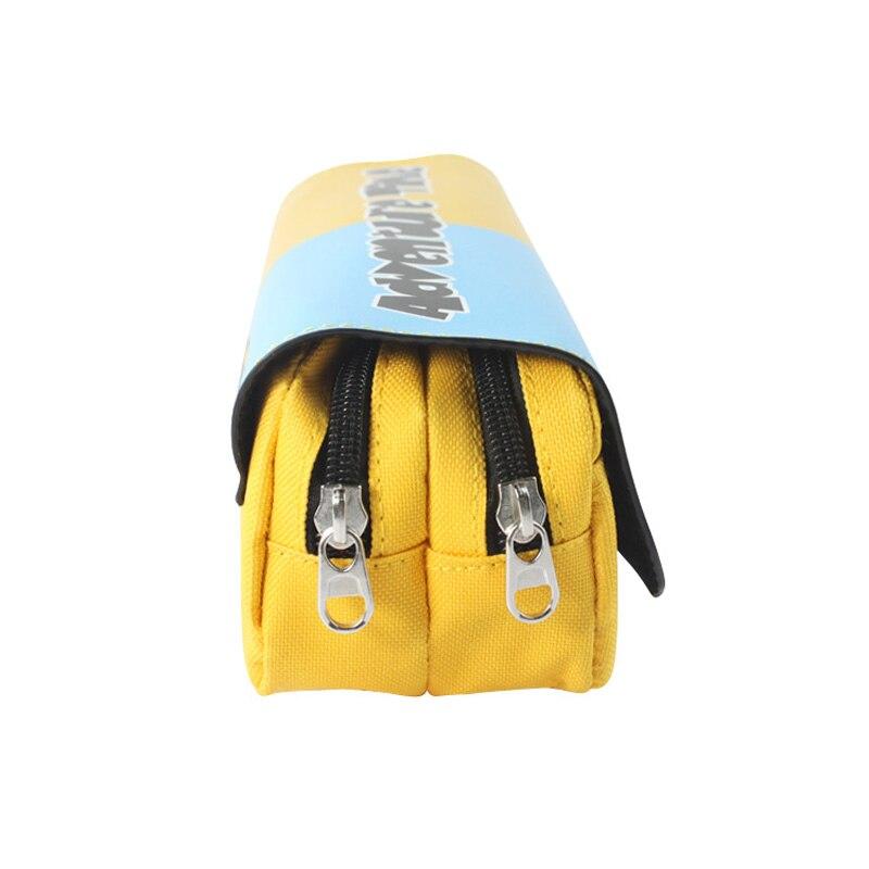 Мультфильм время приключений с Финн и Джейк пенал сумка студент канцелярские мешок/Косметические/путешествия Макияж/хранения сумка