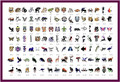 Animals Patterns Airbrush Tattoo Stencils For Summer Water-proof Temporary Body Tattoo Stickers 110pcs Designs one Book Hotsale