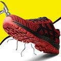 Большие размеры 37-46; Рабочая обувь унисекс; Рабочая обувь из сетчатого материала; Высококачественная защитная обувь со стальным носком; Муж...