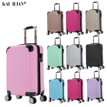 "20""24 inch ABS+PC suitcase on wheels travel trolley luggage Women Cabin suitcase fashion men carry-ons trolley case luggage new(China)"