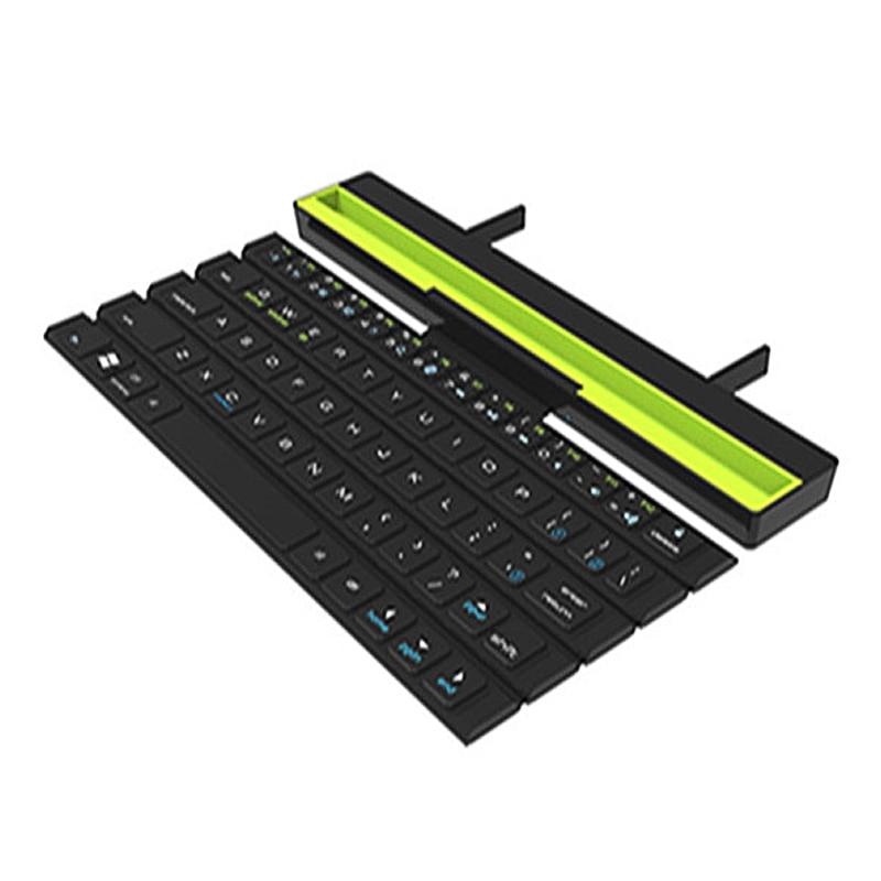 R4 Rouleau Pliage clavier bluetooth Sans Fil 64 Touches Bobine mini clavier Pliable pour Tablette iphone Ordinateur Portable Smartphone Ipad Cadeaux