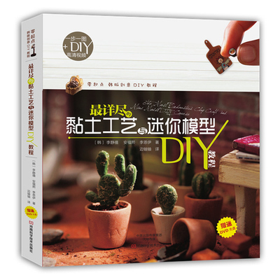 User Friendly Clay Art & Miniature DI / Chinese Handmade Carft Book