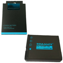 SOULMATE NP-130 CNP-130 lithium batteries pack NP 130 CNP130 Digital Camera Battery NP130 For Casio EX-ZR1000 200 300 1200 H35