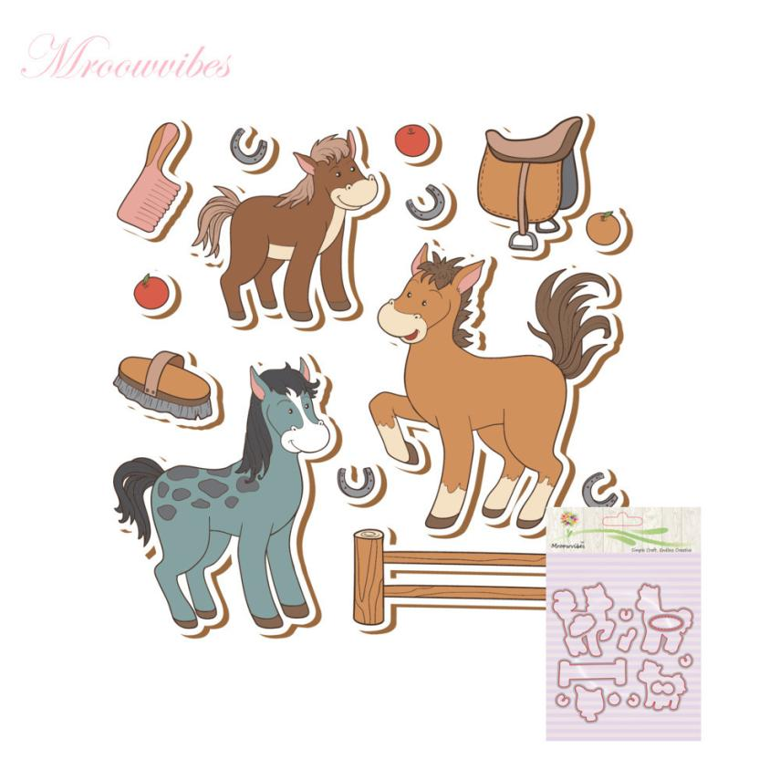 House LC New Metal Cutting Dies Stamp Stencils DIY Scrapbooking Photo Album Decor Cards K 17Oct17 Drop Ship pig silicone clear stamp metal cutting dies stencil frame scrapbook album decor clear stamps scrapbooking accessories