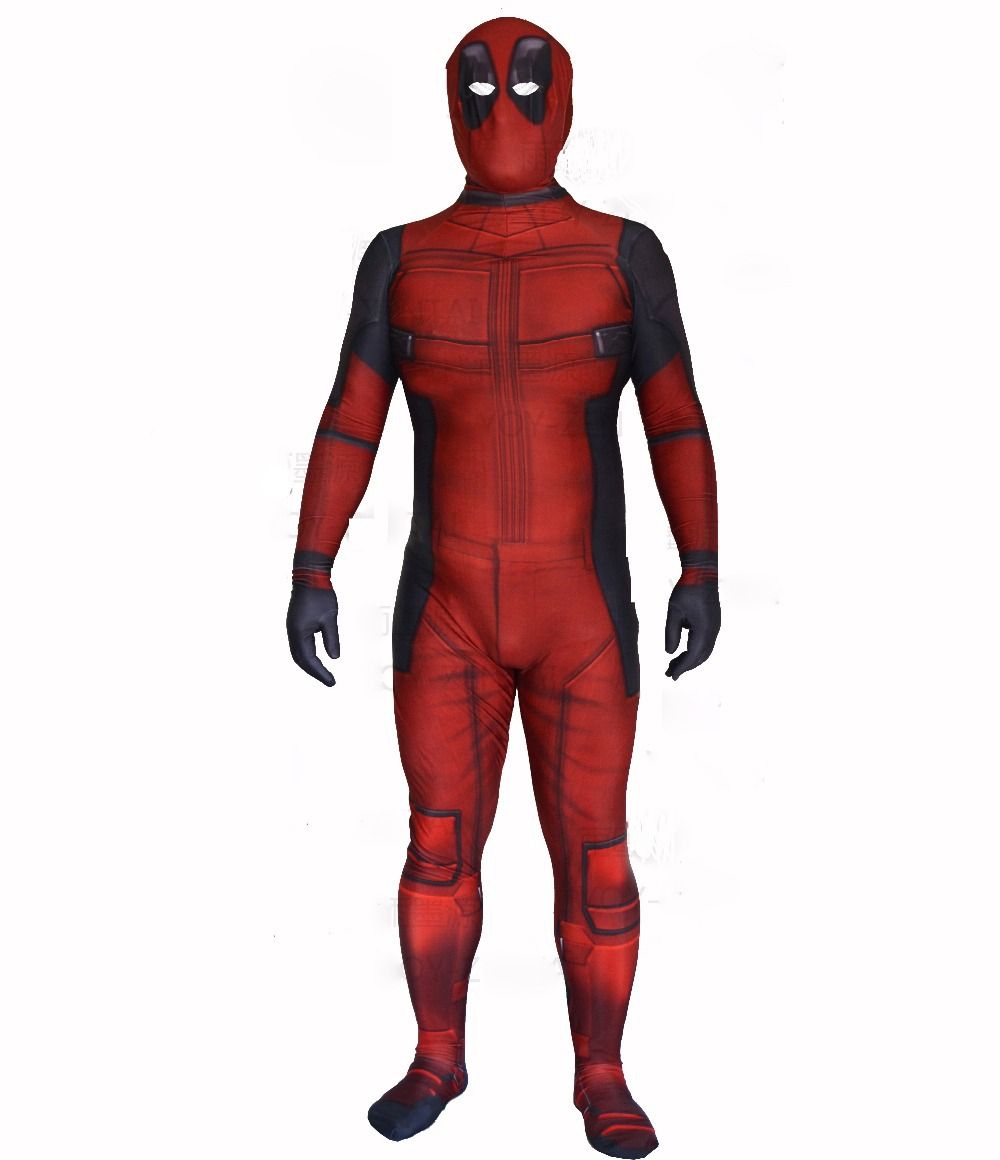 Compare Prices on Deadpool 3d Print Costume- Online Shopping/Buy ...