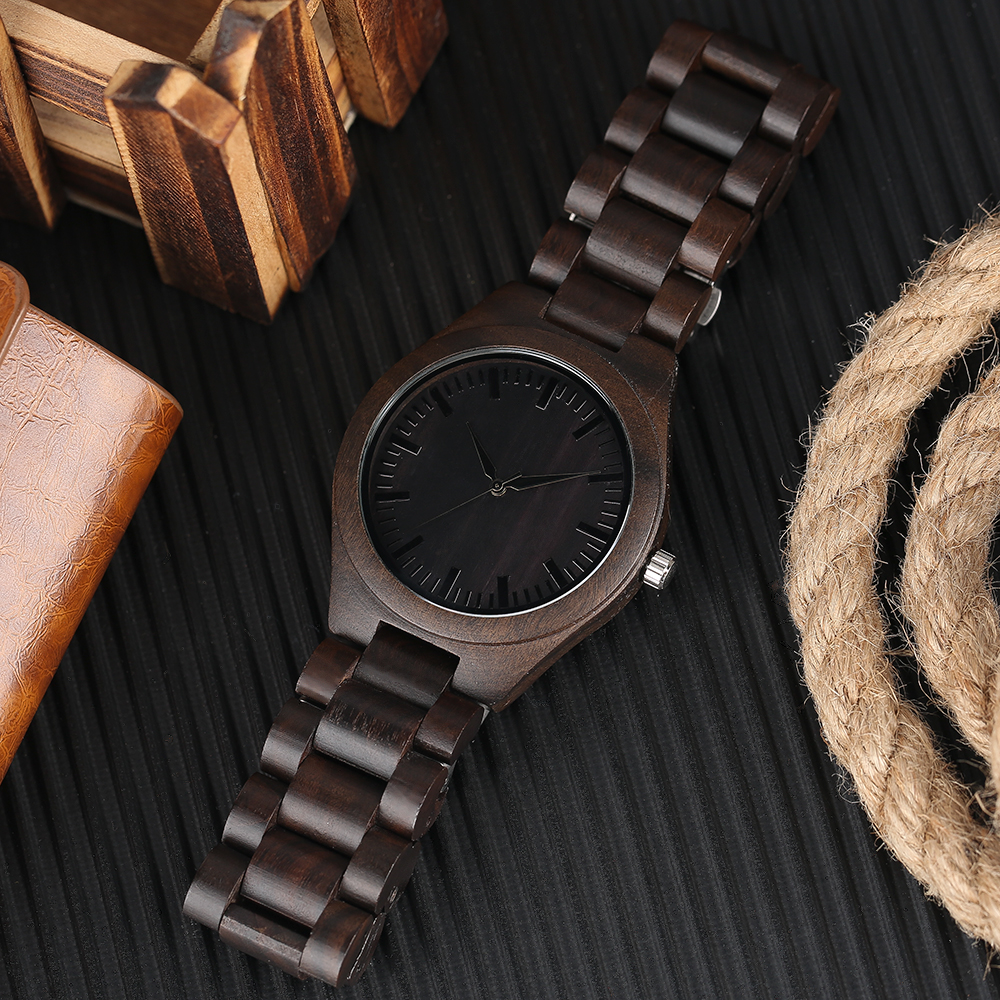 YISUYA Nature Bamboo Wood Creative Watches Men Casual Sport Wooden Quartz Wrist Watch Men Women Flod Clasp Band Bangle Clock  (13)