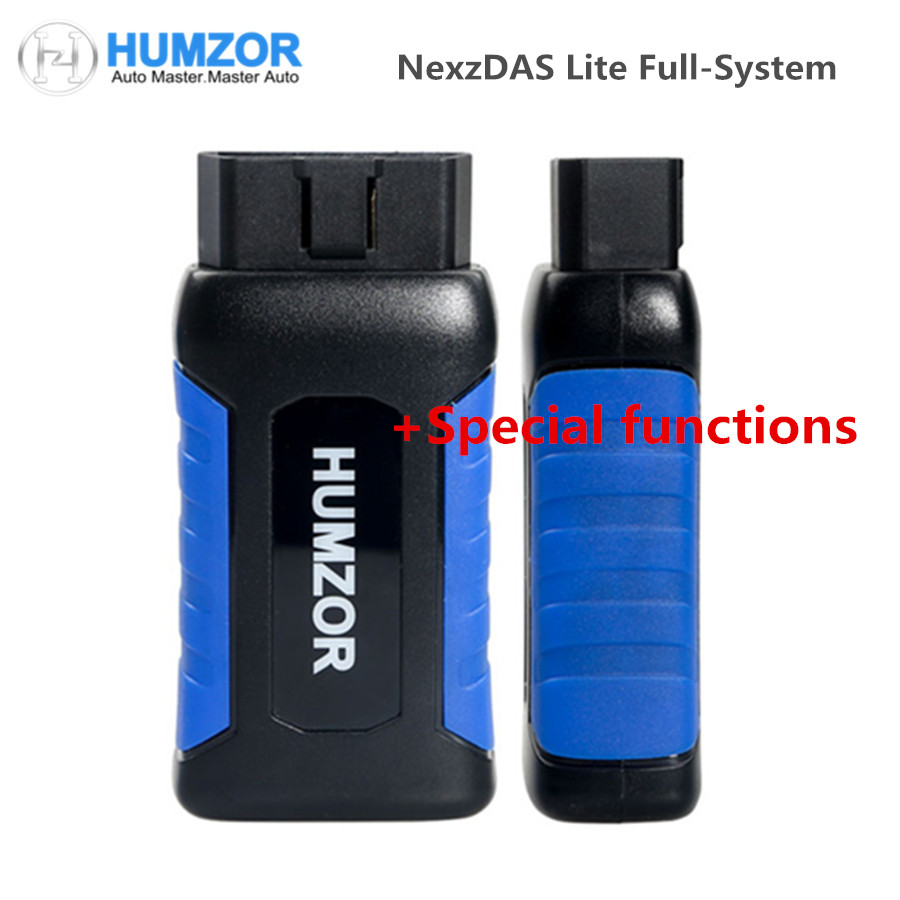 HUMZOR NexzDAS Lite Full System DiagnosisTool with Special functions Support Bluetooth for Android