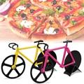 HY Bicicleta Ruedas de Pizza Slicer Cortador de Pizza de Acero Inoxidable de Doble Antiadherente