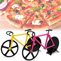 HY Bicycle Pizza Cutter Dual Stainless Steel Wheels Pizza Slicer Non-Stick
