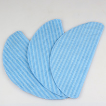 3PCS Replacement Mopping Cloth for Ecovacs CEN540 Robotic Accessories Wipes Cleaning Cloth Reusable,Washable Wet & Dry Mopping
