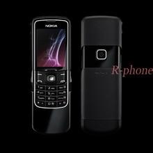 Origina Nokia 8600 Luna Mobile Cell Phone Unlocked RUSSIAN keyboard Arabic Keyboard & One year warranty