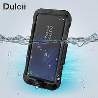 Przypadki Telefonów dla Samsung Galaxy S8 Plus G955 10 M Podwodny Wodoodporna Miękkiego Silikonu + Plastikowe Akcesoria Telefoniczne Telefon Coque fundas