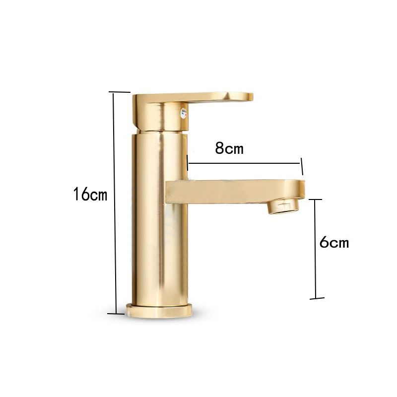 Luxury Bathroom Basin Faucet Space Aluminum Cold and Hot Water Mixer Tap Deck Mounted Single Handle Crane Washbasin Sink Faucet