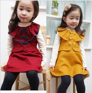 Freeshipping  FASHION girls dress, cotton dress, flower dress, beautiful girls clothes, kids clothing, children dress
