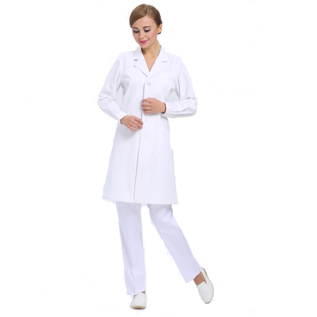 Aliexpress.com : Buy Hot Selling White Lab Coat Uniforms Lab Coat